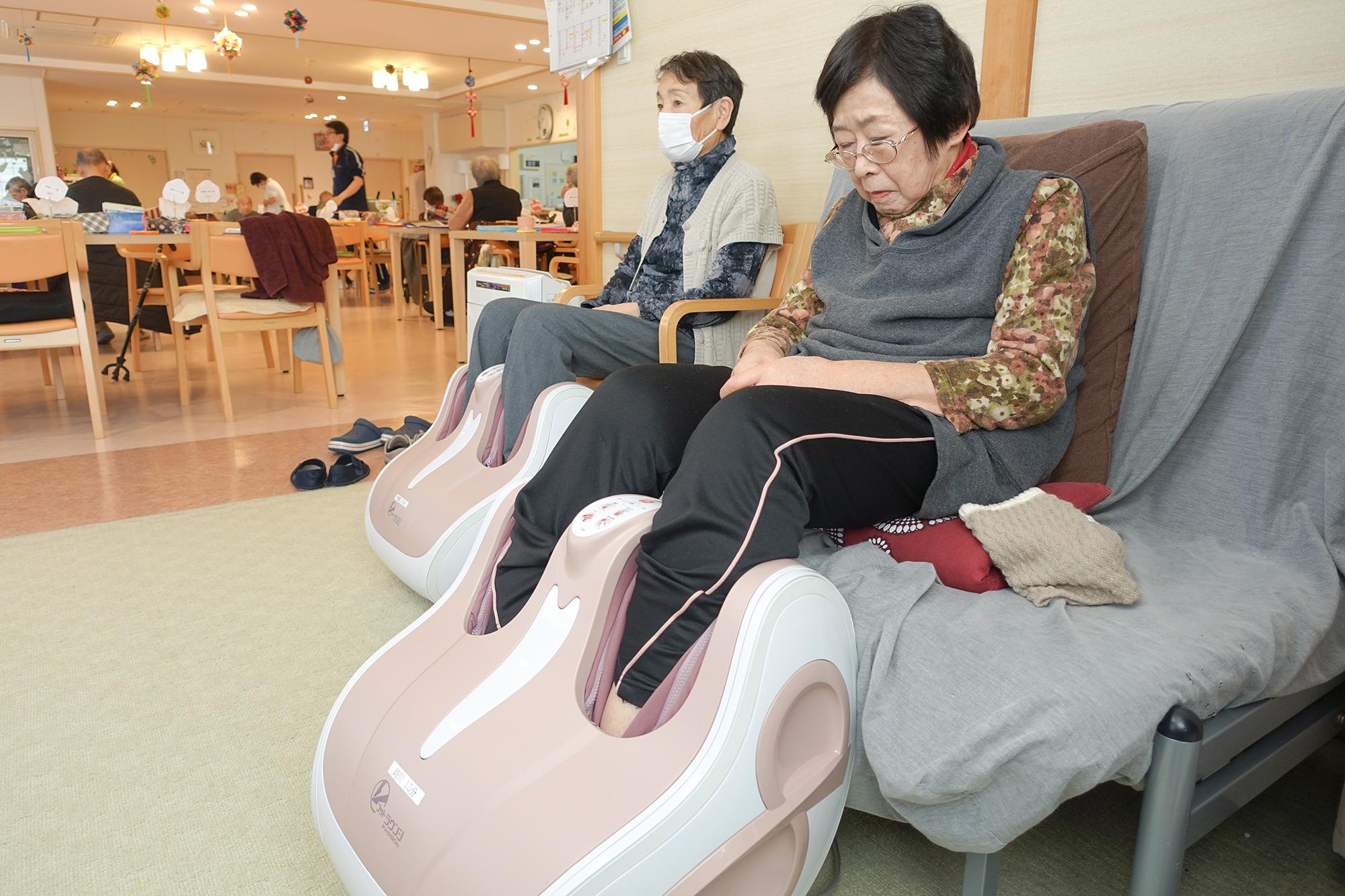 下肢マッサージ器具
